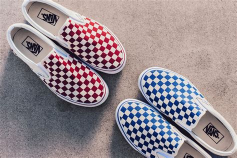 Sepatu Vans Slip On Chekerboard Import New vans checkerboard slip on pack available now feature
