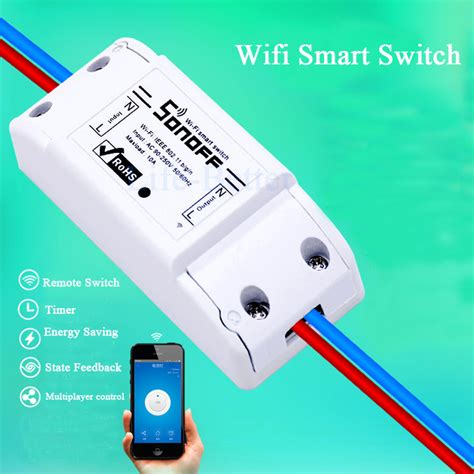 Sonoff Wifi Smart Switch Wireless Saklar aliexpress buy new sonoff smart home remote wireless switch universal module timer