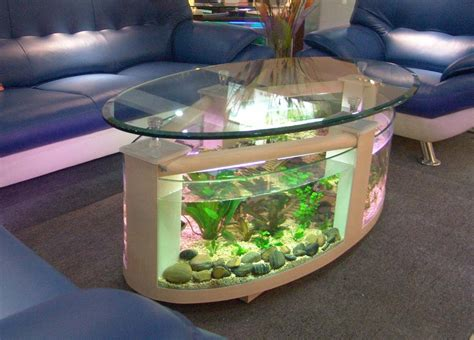 Coffee Table With Fish Tank Top 7 Cool Fish Bowls And Tanks Vansant Author