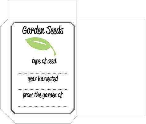 printable seed envelope 55 best printable seed packets images on pinterest seed