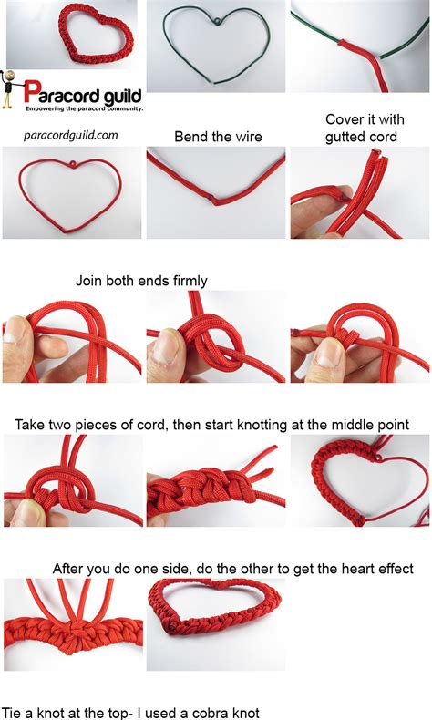 Knots Tutorial - paracord decoration tutorial cord crafting
