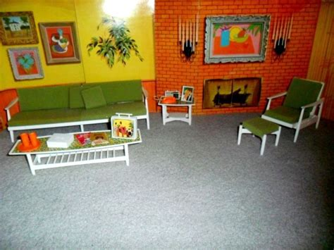 Furniture Their Backdrops 2 1964 go together living room furniture set w all