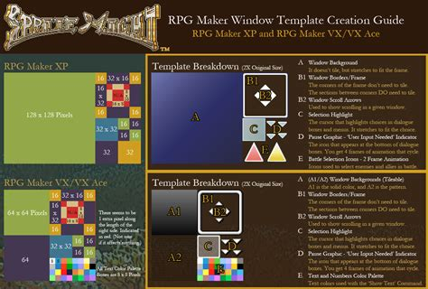 pattern maker windows xp sprite might rpg maker window template guide by