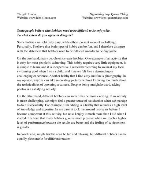 ielts essay sles of band 8 writing task 2 band 9 0 collection from www ielts simon