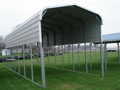 Metal Boat Carports 12x36x10 steel boat or rv storage carport boat rv storage standard steel carports sales