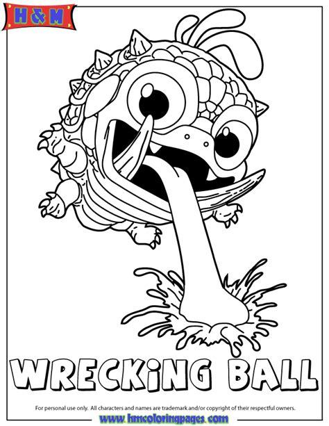 skylanders coloring pages eye brawl skylanders giants undead eye brawl coloring page hm