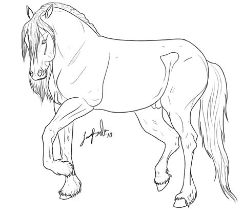 coloring pages of friesian horses friesian horse colouring pages