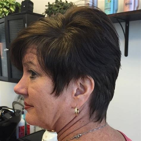 short hairstyle cor women over 50 stacked short hairstyles for women over 50 hairiz