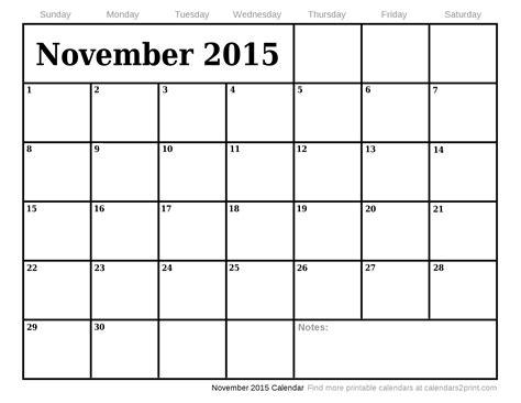 printable calendar october december 2015 november 2015 printable calendar