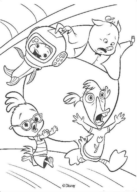 chicken little 41 coloring pages hellokids com