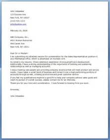 Letter Sle For Best Sales Marketing Cover Letter