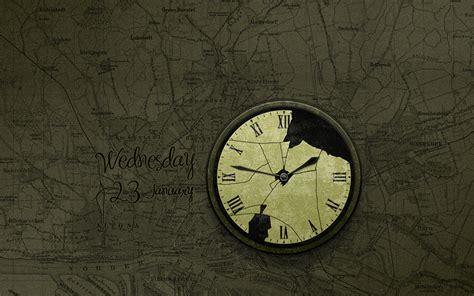 Wall Pattern broken 183 wallpaper clocks 183 vladstudio