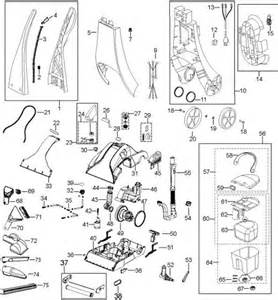 Rug Doctor Mighty Pro X3 Parts by Rug Doctor Mighty Pro X3 Parts Diagram