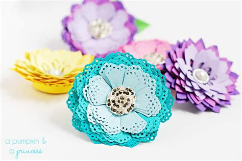 How Do You Make Paper Flowers - diy paper flowers without a die cutting machine a