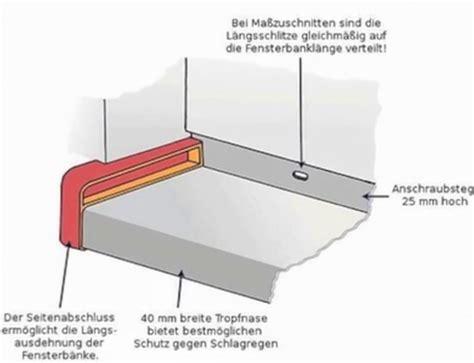 Fensterbänke Aluminium Preise by Fensterbank Idee Au 223 En