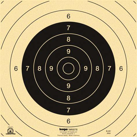 printable competition targets 25 50 yard international slow fire pistol target repair