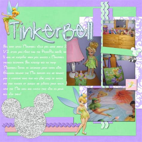 tinkerbell bedroom tinkerbell bedroom mousescrappers disney scrapbooking