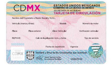 renovar la tarjeta de circulacion 2016 requisitos para renovar la tarjeta de circulacion 2016