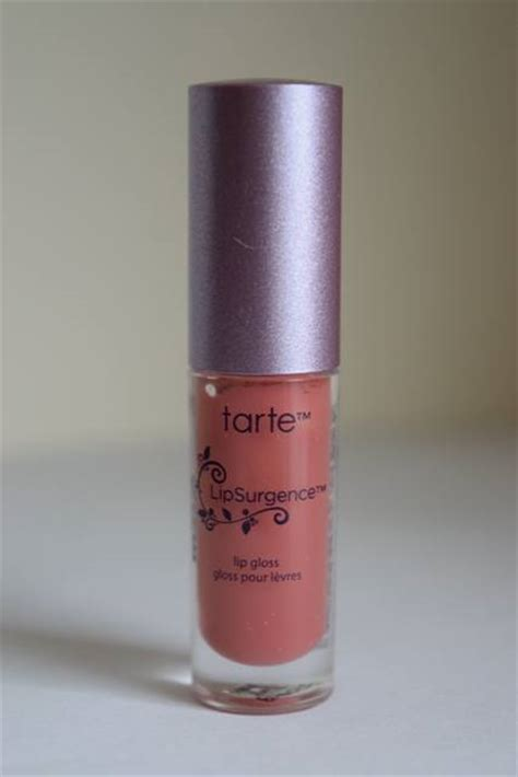 Tarte Inside Out Vitamin Lipgloss by Tarte Cosmetics Lipsurgence Lip Gloss In Exposed
