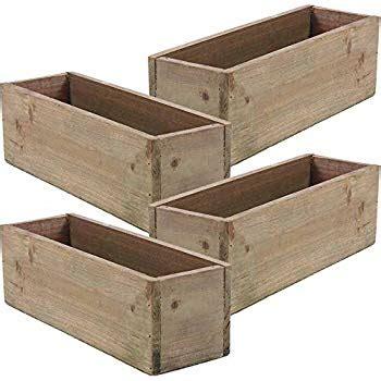 wooden decor for restaurant wooden planter box rustic barn wood plastic