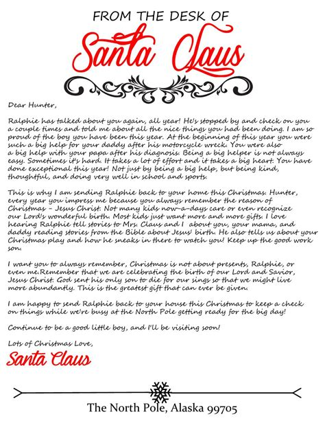 elf arrival letter for elf on the shelf honeysuckle