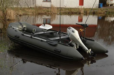 fishing boat inflatable bison marine olive green inflatable fishing sports air rib