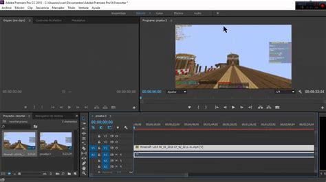 cortar un video videoclase 1 como cortar un video quot adobe premiere pro