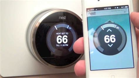 Nest Learning Thermostat: Unboxing & Review   YouTube