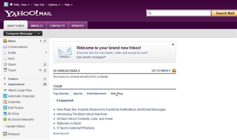 mudar layout yahoo mail yahoo mail inbox layout mail inbox bing images