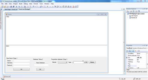 membuat form login menggunakan database mysql vb net visual basic mysql koneksi odbc visual basic net