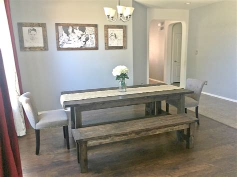 ana white dining room table ana white farmhouse dining room table with benches