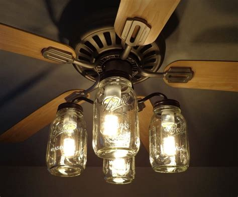 mason jar light fixture for sale mason jar ceiling fan light kit new quart jars mason jar