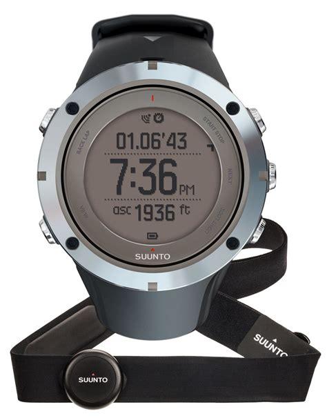 Jam Suunto Ambit3 Sport Sapphire suunto ambit3 peak sapphire hr gps rate monitor edition outdoor new ebay