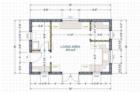 24x24 Floor Plans by 16x24 Floor Plan Help Small Cabin Forum