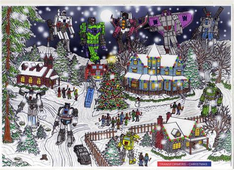 transformers christmas 1985 by nodavatar1985 on deviantart