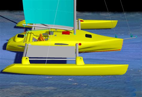 catamaran charter nelson kurt hughes multihull design catamarans and trimarans