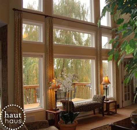 great room window treatment ideas 25 best ideas about two story windows on two