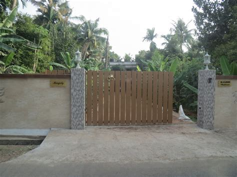 design of gate for house house gates in kerala joy studio design gallery best design