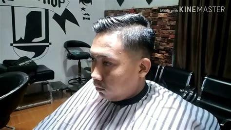 model rambut skin fade undercutmrfad barbershop youtube