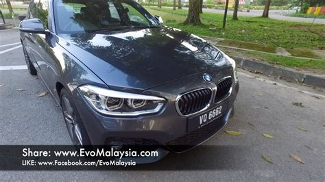 Bmw 1 Series 118i Price Malaysia evo malaysia 2017 bmw 118i m sport in depth review