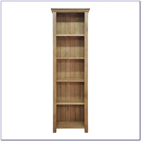 narrow bookcase with doors bookcase home design
