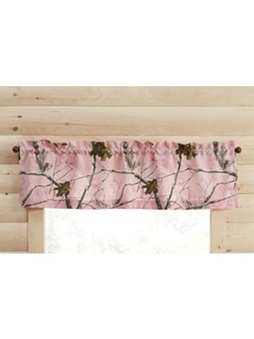 Realtree Valance Curtain Pink American Outdoor Woman