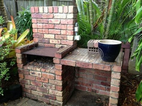 backyard built in bbq how to build a brick barbecue for your backyard icreatived