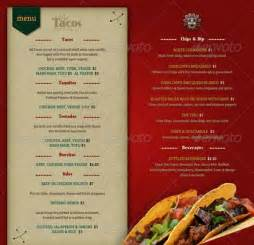 food menu templates restaurant menu template