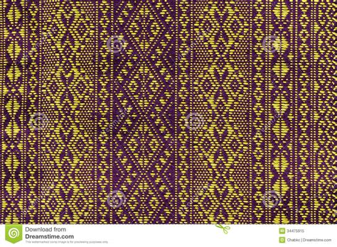 pattern woven into fabric thailand pattern of woven fabrics hand royalty free stock