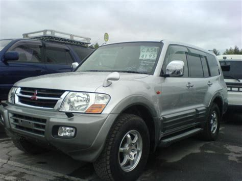 mitsubishi car 2002 2002 mitsubishi pajero for sale