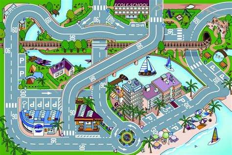 Sale Puzzle Edukasi Alphabet Road 2 play rug mat rugs sale