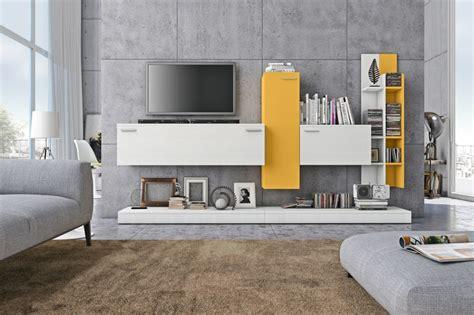 www home decoration com soggiorno moderno rosso e bianco