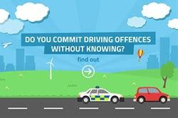 8 Crimes We Commit Without Knowing by Do You Commit Driving Offences Without Even Knowing