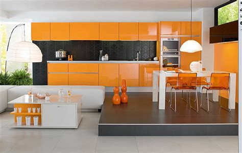 Orange Decorations by Decorating With Orange How To Incorporate A Risky Color